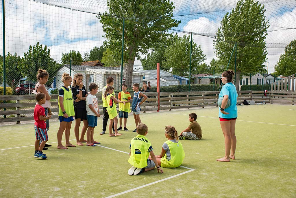 animations sportives au camping