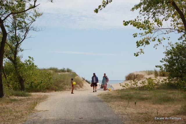 autre accès plage La Tranche sur Mer