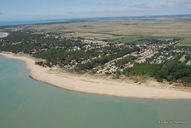 vue aérienne La Tranche sur Mer