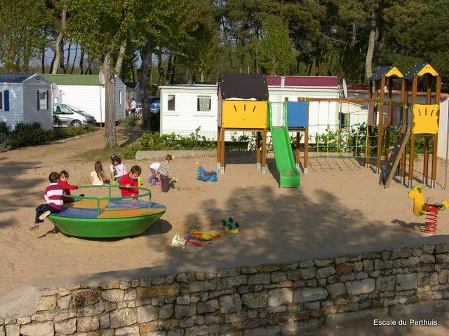 aire de jeux enfants du camping à la tranche sur mer