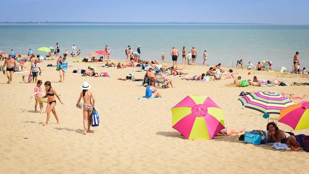 grande plage de La Tranche sur Mer