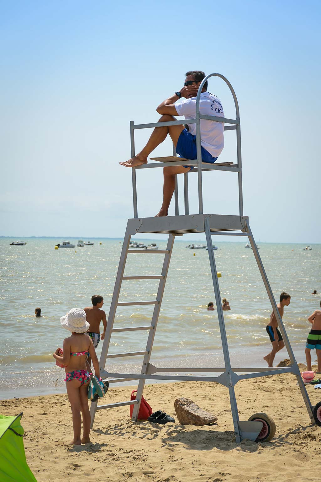 plage surveillée La Tranche sur Mer