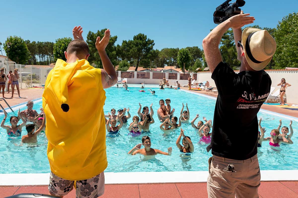 animations piscine