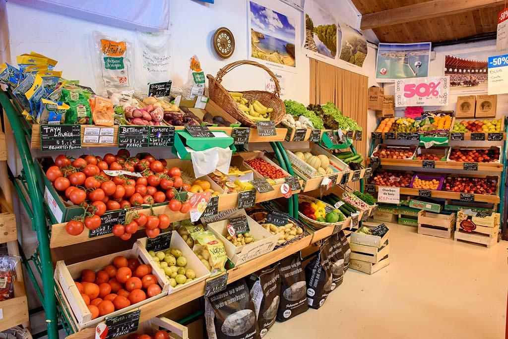 fruits et légumes épicerie