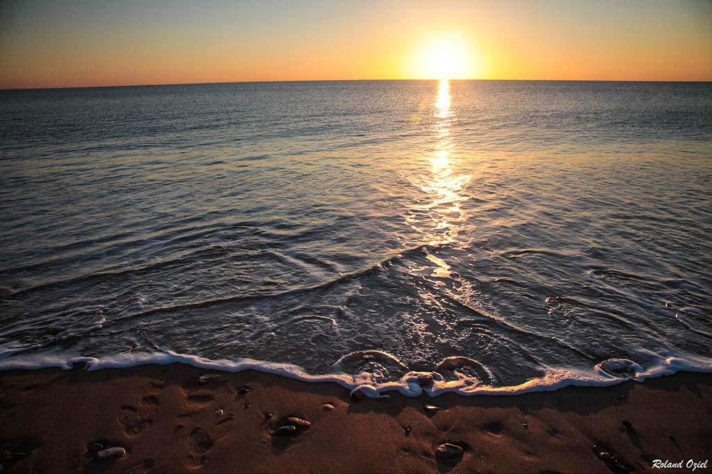coucher soleil la Faute sur Mer