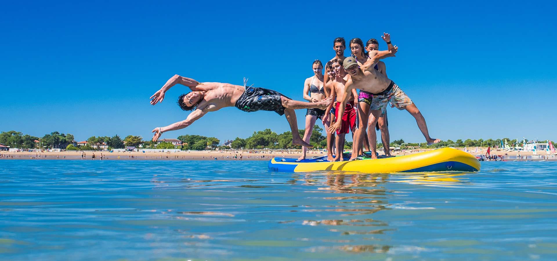planche à voile et activités nautiques la Tranche sur mer