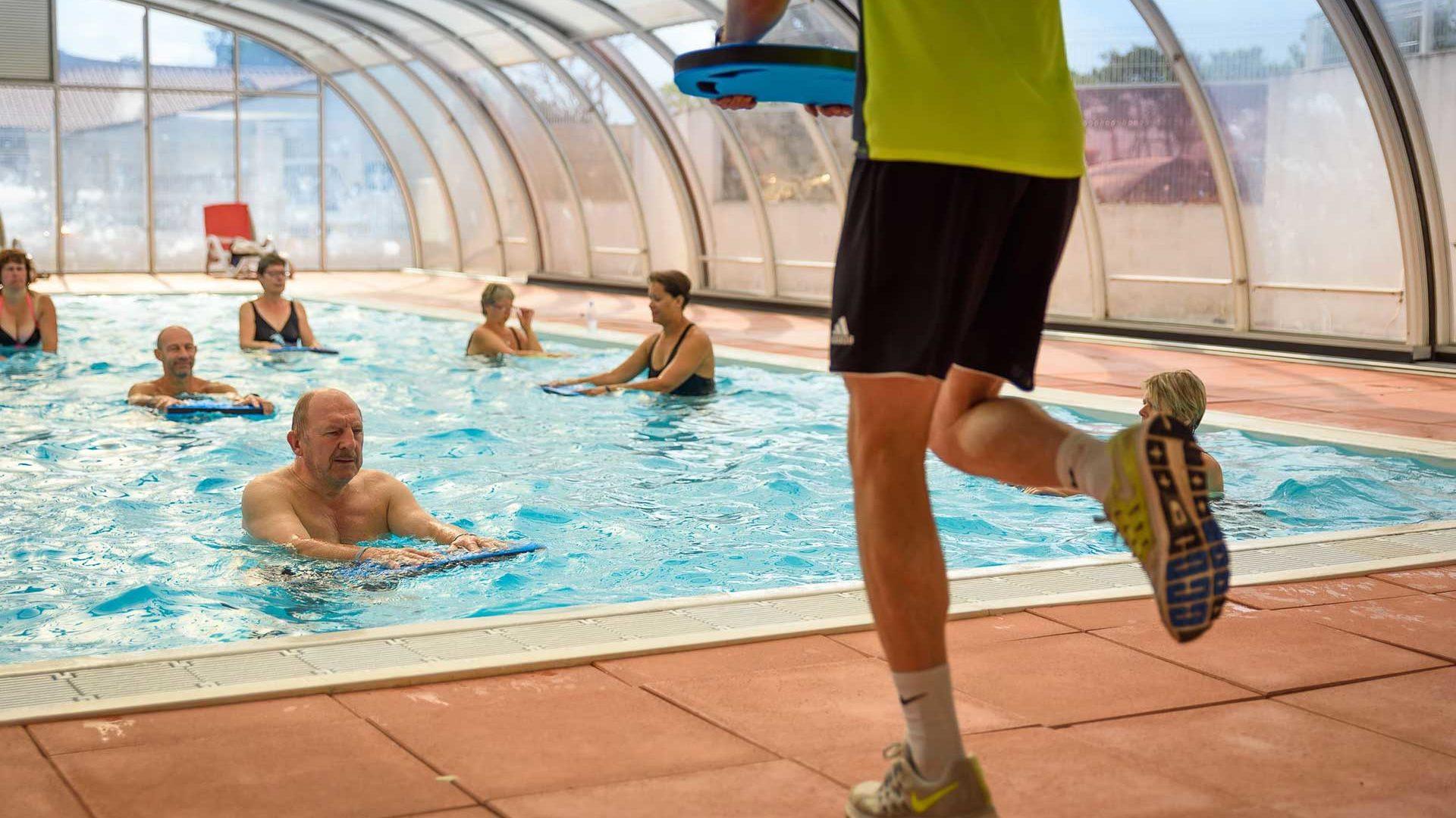 aquagym piscine couverte
