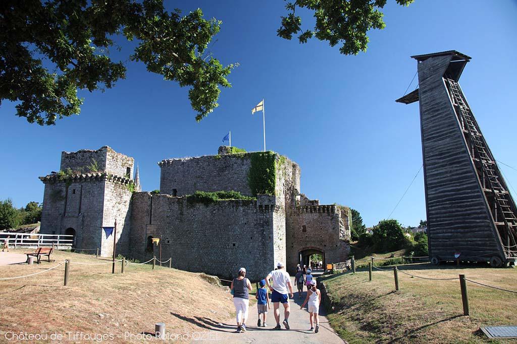 Château de Tiffauges en Vendée